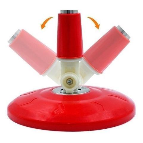 Imagem de Mop esfregão giratório spin pro master 360 balde e cabo inox