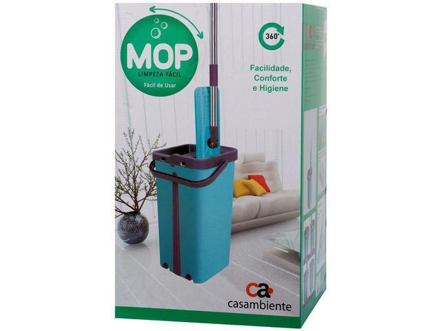 Imagem de Mop Flat Casambiente TP007M com Balde