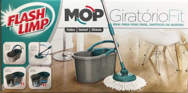 Imagem de Mop Giratório Fit Esfregão - Flash Limp mop5010