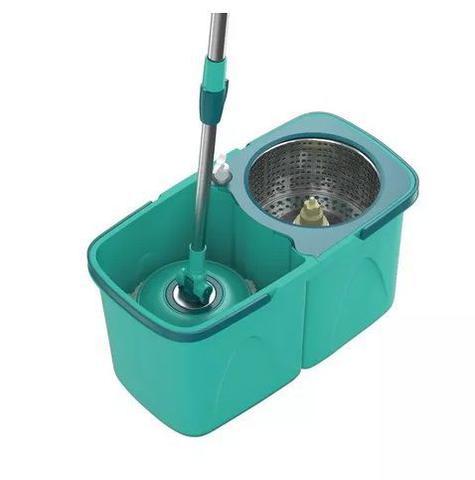 Imagem de MOP PRO Flash Limp Esfregão Giratorio Centrifuga Spin 360 Balde Inox MOP7824