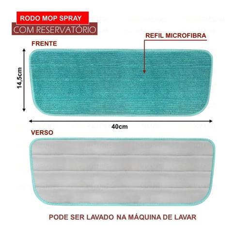 Imagem de Mop Spray Rodo Vassoura Mágica Esfregão com Reservatório - 123 Útil