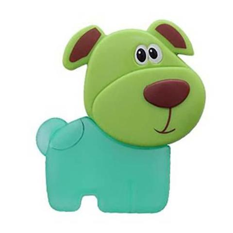 Imagem de Mordedor cachorrinho verde buba 3037