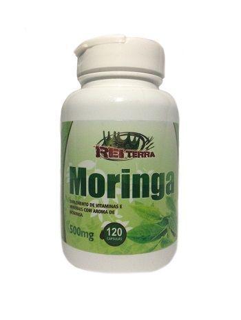 Imagem de Moringa Oleifera 120 cápsulas 500 mg Rei Terra