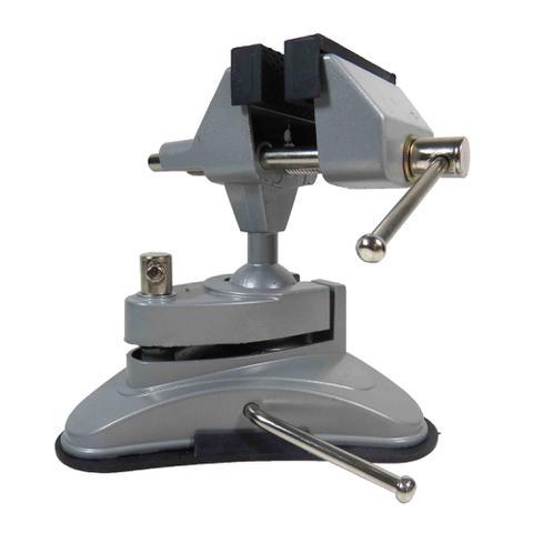 Imagem de Morsa Torno De Mesa E Bancada 70mm Articulado Com Ventosa