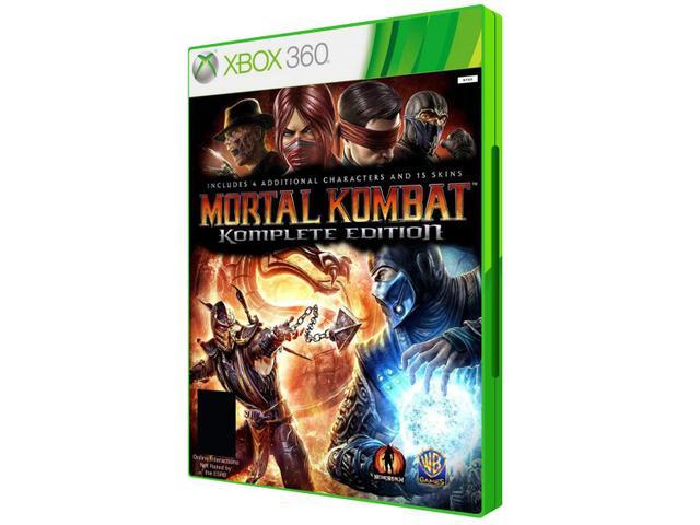 Imagem de Mortal Kombat Komplete Edition para Xbox 360