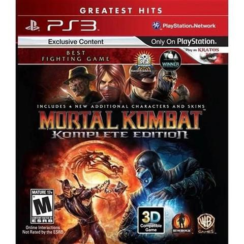 Jogo Mortal Kombat Komplete Edition - Playstation 3 - Warner Bros Interactive Entertainment
