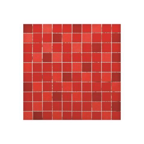 Imagem de Mosaico Vermelho 32x32cm Ref.: Mo32321