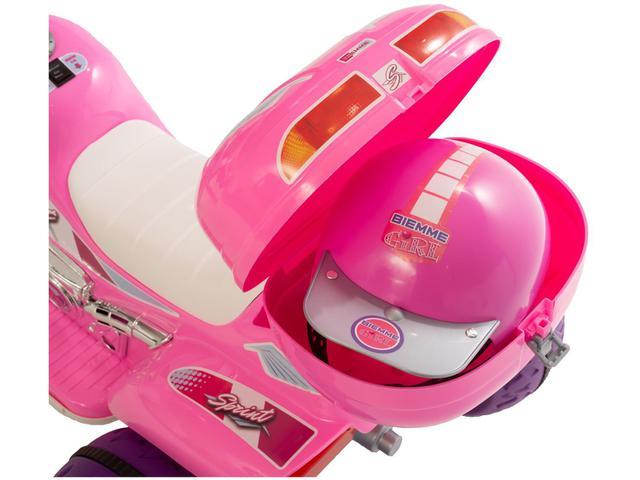Imagem de Moto Elétrica - Sprint Turbo Pink com Capacete - Biemme