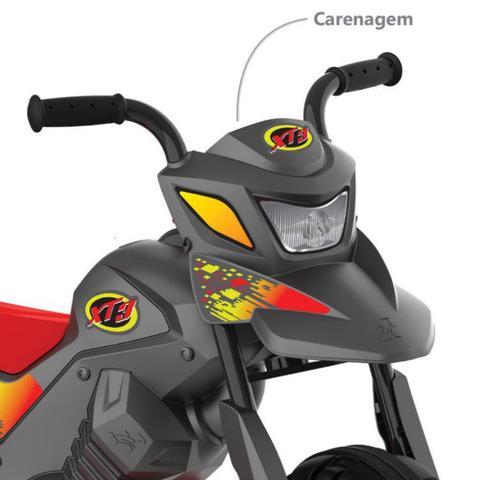Imagem de Moto Elétrica XT3 Grafite 6V - Bandeirante