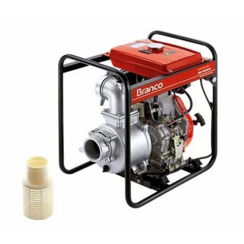 Imagem de Motobomba Autoescorvante a Diesel 10 HP BD-700 CFE Branco