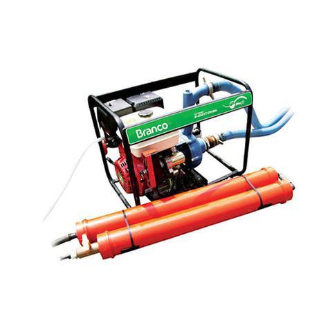Imagem de Motobomba Biogás e Gasolina B4T-817CH Partida Manual Branco