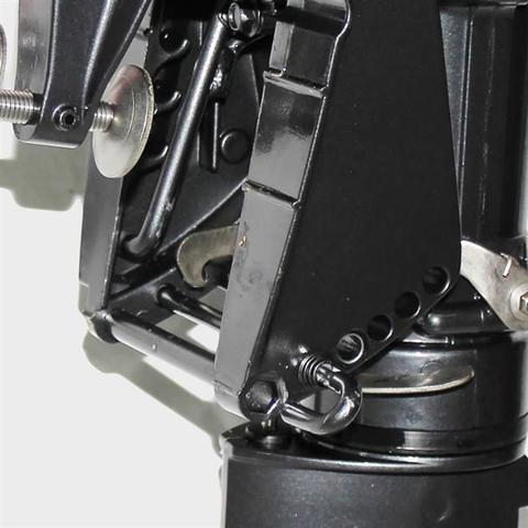 Imagem de Motor De Popa 4 Tempos 6.5Hp G4XT Com Marcha e Partida Elétrica Preto Meghi