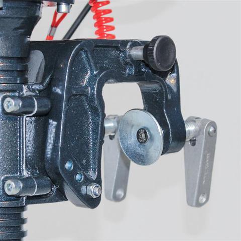 Imagem de Motor De Popa Jet Turbo Pantaneiro 3Hp 52cc Branco e Preto Meghi