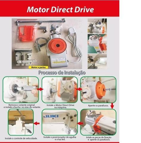 Imagem de Motor Econômico p/ Reta Industrial, Direct Drive, 750W