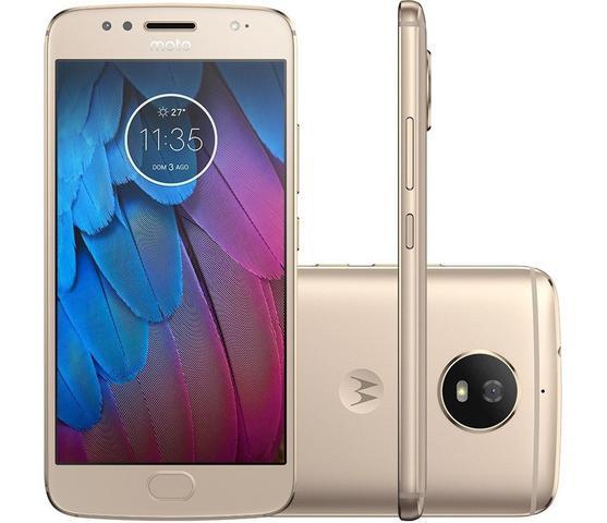 Imagem de Motorola Moto G5S Dual Chip com Memória RAM de 3GB e Tela de 5,2