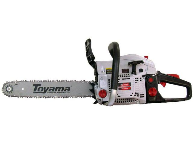 """Imagem de Motosserra à Gasolina Toyama 46cc 2 Tempos 16"""""""