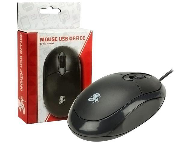 Imagem de Mouse 5+ Óptico 1000DPI 3 Botões