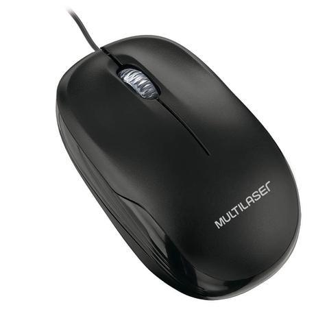 Imagem de Mouse Box Optico Com Fio Preto Usb Multilaser - MO255