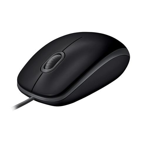 Imagem de Mouse com fio logitech m110 preto