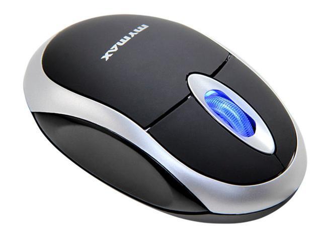 Imagem de Mouse com fio Óptico USB Preto - Mymax