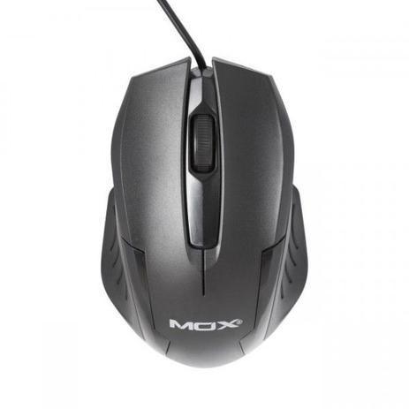 Mouse Usb Óptico Led 1000 Dpis 3d Mox