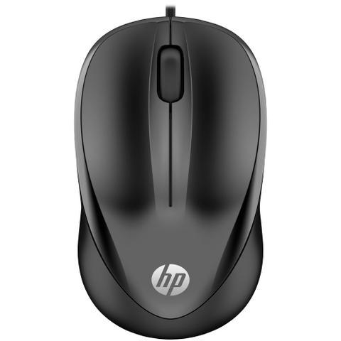 Imagem de Mouse com Fio USB Preto 1000 4QM14AA HP