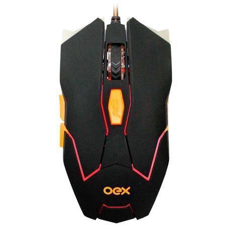 Mouse Usb Óptico Led 5200 Dpis Ranger Ms-309 Oex