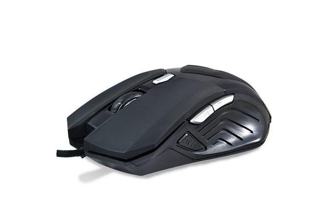 Imagem de Mouse Gamer 6D 4800dpi Shadow Hunter Cabo Nylon Hardline