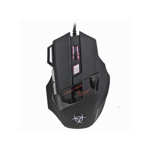 Imagem de Mouse Gamer Com Fio USB 2.0 2400 Dpi Alta Precisão Para Jogos Kp-v4