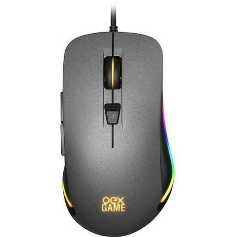 Mouse Usb Óptico Led 10000 Dpis Cronos Ms-320 Oex