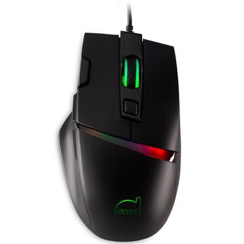 Mouse Usb Óptico Led 6400 Dpis Legacy 62524-1 Dazz