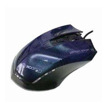 Mouse Usb Óptico Led 2400 Dpis Simply Life Ms-014 Hoopson