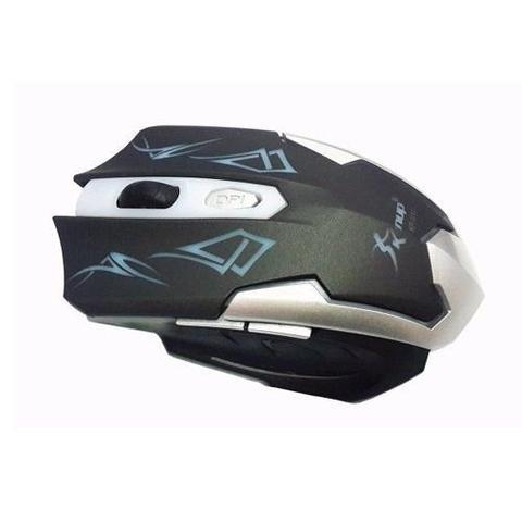 Mouse Usb Óptico Led 2400 Dpis Kp-v10 Knup