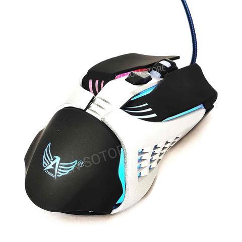 Mouse Usb Óptico Led A-5218 Altomex