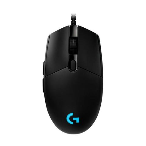 Mouse Usb Óptico Led 12000 Dpis G Pro Gaming Preto 910-004873 Logitech