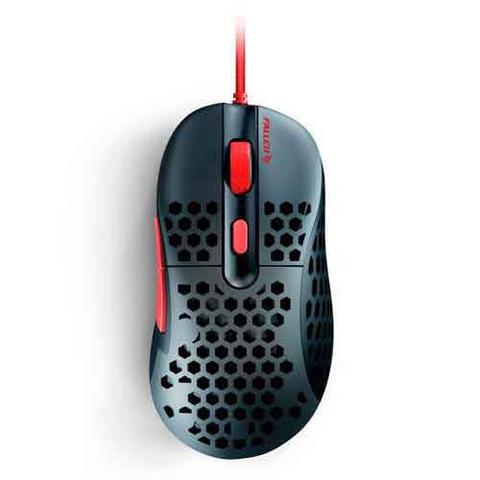 Imagem de Mouse Gamer Óptico Ultraleve Fallen Gear Mercury Preto e Vermelho - F65