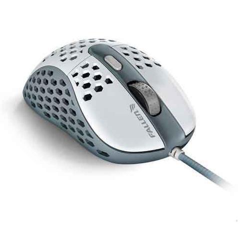 Imagem de Mouse Gamer Óptico Ultraleve Fallen Gear Tempest Branco e Cinza - F65