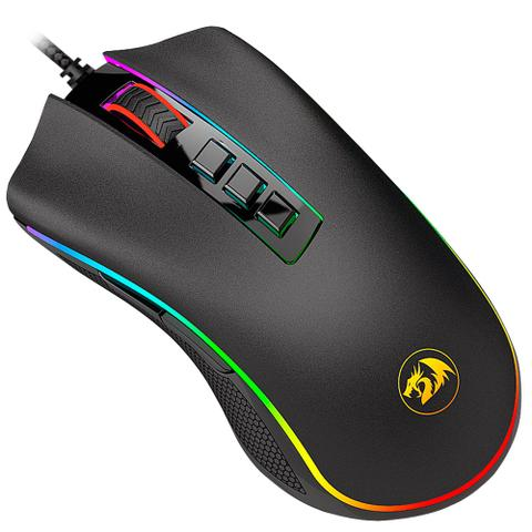 Imagem de Mouse Gamer Redragon King Cobra Chroma RGB M711-FPS 24000 DPI Switch a Laser Sensor Pixart 3360