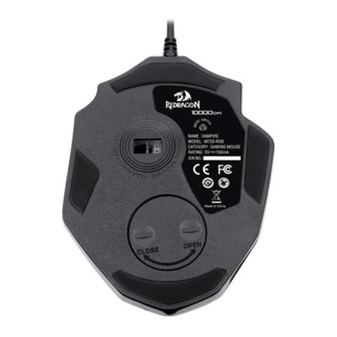 Mouse 10000 Dpis Vampire M720 Redragon