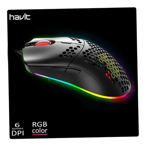 Mouse 6400 Dpis Hv-ms1023 Havit