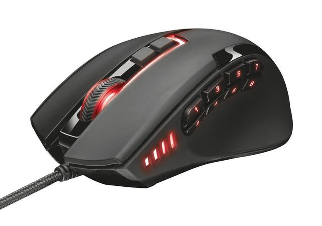 Mouse Usb Laser 16400 Dpis Gxt 166 Mmo 19816 Trust