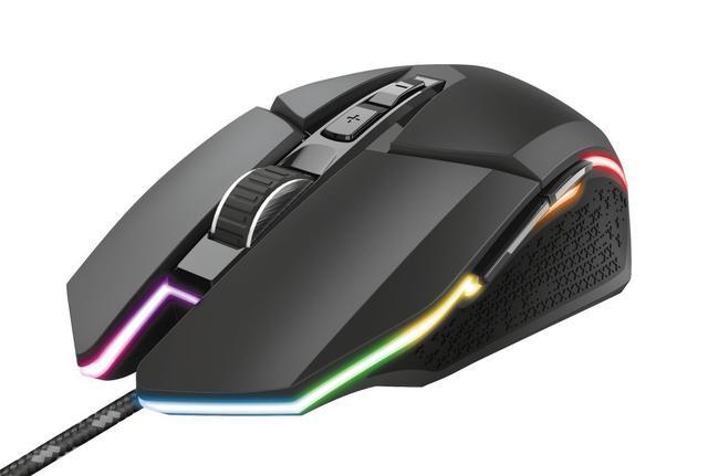 Mouse Usb Óptico Led 6000 Dpis Idon Gxt950 Trust