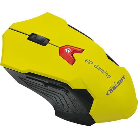 Mouse Usb Óptico Led 2400 Dpis 0375 Bright