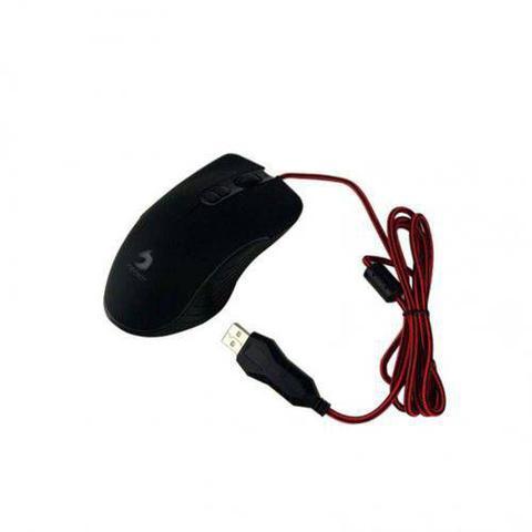 Imagem de Mouse Gamer usb Infokit Soldado com iluminação RGB GM-v550