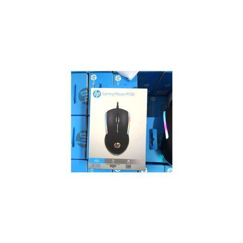 Imagem de Mouse Gamer USB M160 1000DPI RGB Preto HP
