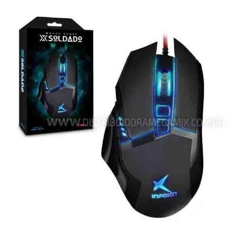 Mouse 3200 Dpis Soldado Gm-601 Exbom