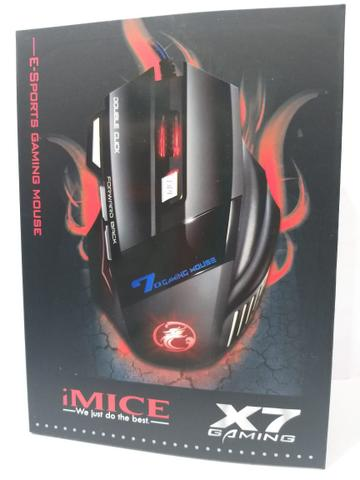 Mouse Bluetooth Óptico Led 550 Dpis Gamer Wm5000x7 Imice