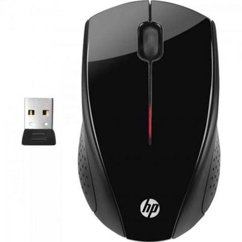 Mouse Wireless Óptico Led 1200 Dpis X3000 Preto H2c22aa#abl Hp