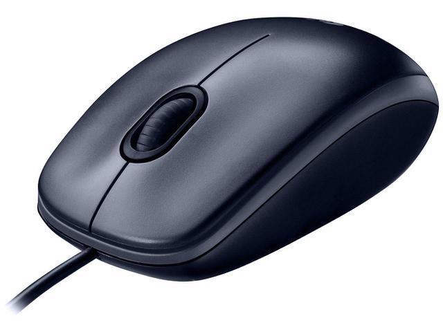 Mouse Usb Óptico Led 1000 Dpis M100 Logitech