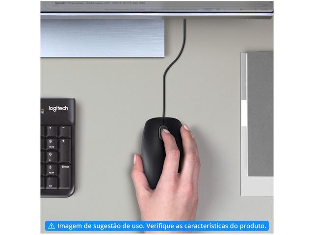 Imagem de Mouse Logitech Óptico 1000DPI 3 Botões M90